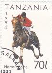 Stamps Tanzania -  equitación