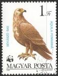 Sellos del Mundo : Europa : Hungría : Aquila pomarina-águila pomerana