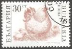 Sellos del Mundo : Europa : Bulgaria : gallina y polluelos