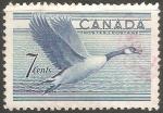 Sellos de America - Canadá -  Ave