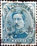 sellos de Europa - Bélgica -  Intercambio 0,40 usd 25 cent. 1915