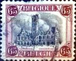 Sellos de Europa - Bélgica -  Intercambio 0,20 usd 65 cent. 1920