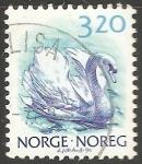 Sellos del Mundo : Europa : Noruega : Pato