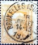 Sellos de Europa - Bélgica -  Intercambio 8,00 usd 1 fr. 1905