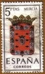 Stamps Spain -  MURCIA - Escudos Provincias España