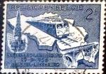 Stamps : Europe : Belgium :  Intercambio hb1r 0,20 usd 2 fr. 1956