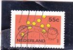 Stamps Netherlands -  ilustración infantil