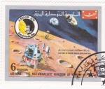 Sellos de Asia - Yemen -  aeronautica-historia de la conquista del espacio