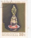 Sellos de Asia - Mongolia -  artesanía