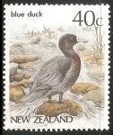 Sellos de Oceania - Nueva Zelanda -  Blue duck-Pato azul