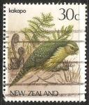 Sellos de Oceania - Nueva Zelanda -  Kakapo