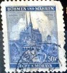 Sellos de Europa - Checoslovaquia -  Intercambio 0,20 usd 2,50 k. 1941