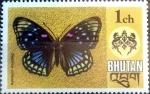 Stamps : Asia : Bhutan :  Intercambio aexa 0,30 usd 1 ch. 1975