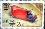 Stamps : Asia : Bhutan :  Intercambio 0,20 usd 2 ch. 1976