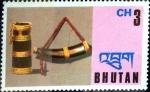 Sellos del Mundo : Asia : Bhután : Intercambio 0,30 usd 3 ch. 1975