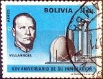 Sellos de America - Bolivia -  Intercambio 0,20 usd 30 cent. 1971