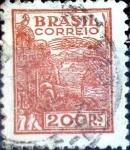 Sellos de America - Brasil -  Intercambio 0,35 usd 200 reales. 1941