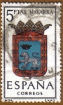 Stamps Spain -  NAVARRA - Escudos Provincias España
