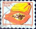 Stamps : America : Brazil :  Intercambio 0,35 usd 0,05 reales 1997