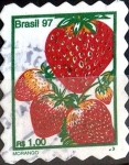 Stamps : America : Brazil :  Intercambio mrl 0,75 usd 1,00 real1998