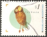 Stamps Argentina -  Lechuza