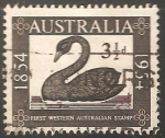 Sellos de Oceania - Australia -  100th anniv. of the first stamp issue of Western