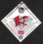 Stamps Yemen -  Copa Mundial de Fútbol México 70