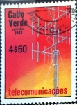 Stamps : Africa : Cape_Verde :  Intercambio 0,25 usd 4,50 escudos 1981