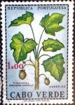 Stamps : Africa : Cape_Verde :  Intercambio nfxb 0,25 usd 1,00 escudos 1968