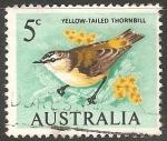 Sellos de Oceania - Australia -  yellow tailed thornbill