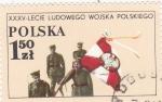 Stamps Poland -  soldados
