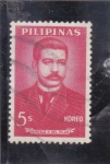 Stamps : Asia : Philippines :  Marcelo M. del Pilar- redactor