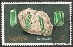 Stamps : Africa : Kenya :  Mineral