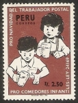 Sellos de America - Perú -  Pro Navidad, del trabajador Postal