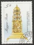 Stamps Hungary -  Reloj antiguo