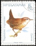 Sellos de Europa - Bulgaria -  Troglodytes troglodytes