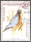 Sellos de Europa - Bulgaria -  Sitta europaea-trepador azul