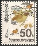 Sellos de Europa - Checoslovaquia -  Bienal de Bratislava