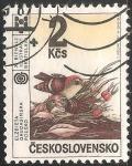 Sellos de Europa - Checoslovaquia -  XI bienal de ilustración bratislava