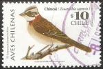 Sellos del Mundo : America : Chile : Aves chilenas-chincol-chingolo
