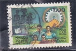 Stamps Sri Lanka -  familia
