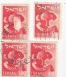 Stamps Israel -  simbolo arbol
