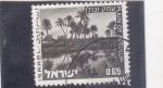 Sellos del Mundo : Asia : Israel : paisaje de Zebulun