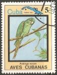 Sellos del Mundo : America : Cuba : Aves cubanas-aratinga euops