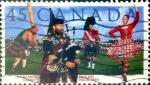 Sellos de America - Canadá -  Intercambio crxf2 0,25 usd 45 cent. 1997