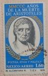 Stamps : America : Mexico :  MMCCC años de la muerte de aristoteles
