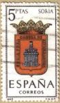 Sellos de Europa - España -  SORIA - Escudos Provincias España