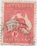 Sellos de Oceania - Australia -  Y & T Nº 2