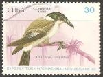 Sellos del Mundo : America : Cuba : Expo. Filatelica Internacional New Zealand-90-cracticus torquatus