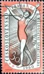 Sellos de Europa - Checoslovaquia -  Intercambio crxf 0,20 usd 30 h. 1960